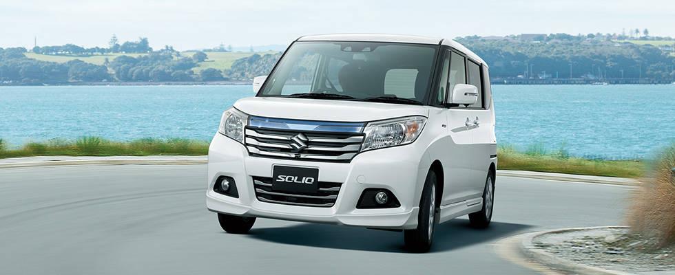 コンパクトでありながら広い室内のスズキ「ソリオ」はファミリーカーとして最適!