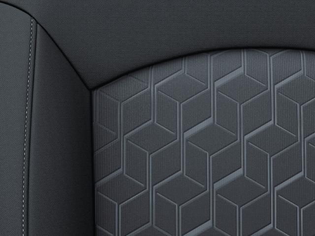 上級ファブリック(幾何学パターン)シルバーステッチ