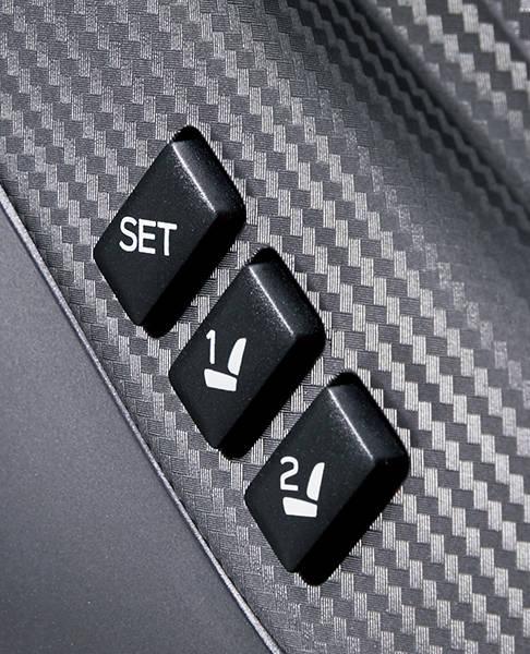 「運転席シートポジションメモリー機能/ ドアミラーメモ...