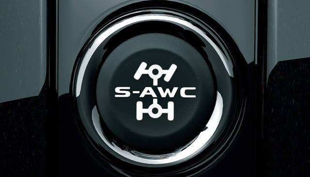S-AWCドライブモードセレクター