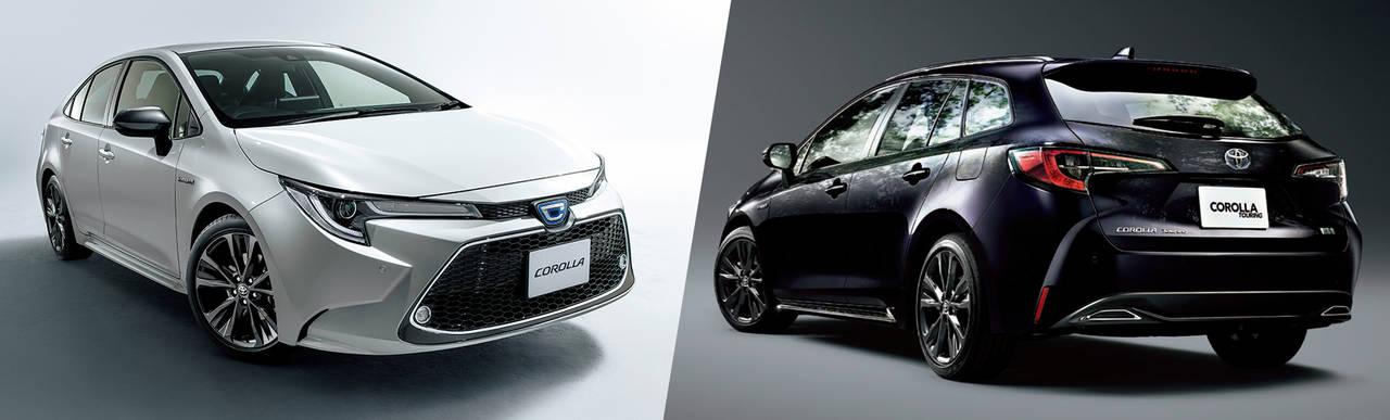 トヨタがの「カローラ」シリーズがフルモデルチェンジ及び一部改良して発売!