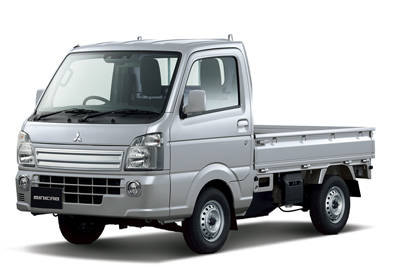 三菱の軽商用車「ミニキャブ トラック」が一部改良して発売!