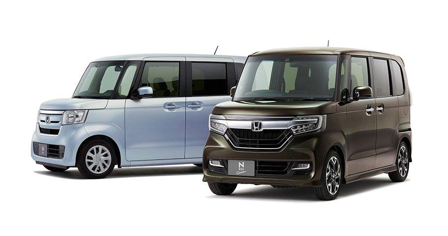 大人気の軽自動車!ホンダ「N-BOX」・「N-BOX Custom」が一部改良されて発売!