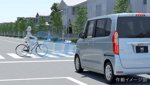 予防安全性能|安全・性能|N-BOX|Honda (67275)