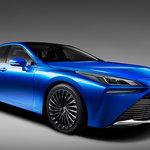 トヨタが燃料電池自動車「MIRAI Concept」を初公開!