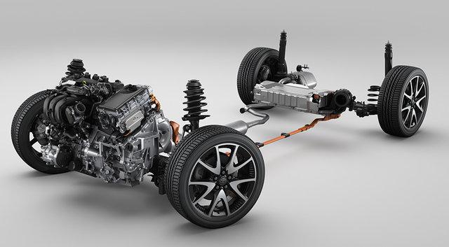 1.5Lダイナミックフォースエンジン+ハイブリッドシステム