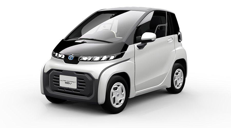 トヨタが東京モーターショー 「FUTURE EXPO」に「超小型EV」を出展!