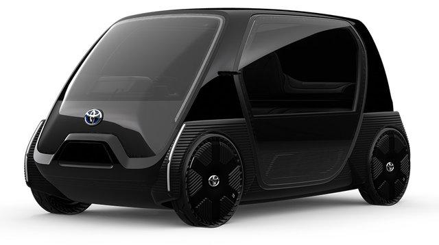 「超小型EV ビジネス向けコンセプトモデル」