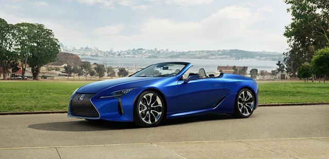 LEXUS、LAオートショーで「LC500」のコンバーチブルモデルを世界初公開 | レクサス | グローバルニュースルーム | トヨタ自動車株式会社 公式企業サイト (69717)
