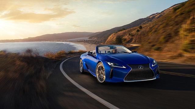 LEXUS、LAオートショーで「LC500」のコンバーチブルモデルを世界初公開 | レクサス | グローバルニュースルーム | トヨタ自動車株式会社 公式企業サイト (69725)