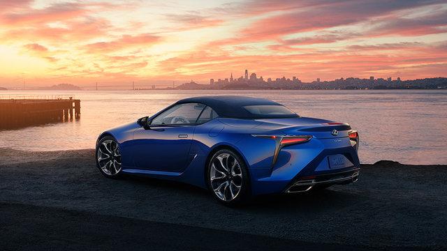 LEXUS、LAオートショーで「LC500」のコンバーチブルモデルを世界初公開 | レクサス | グローバルニュースルーム | トヨタ自動車株式会社 公式企業サイト (69729)