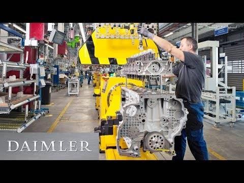 「独ダイムラー、大型のヘビー・デューティー・エンジンで記念の100万基製造達成