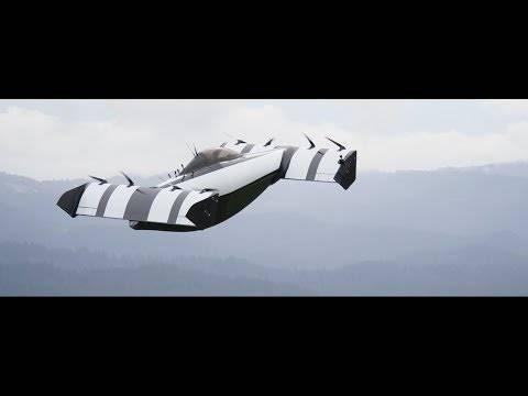 アメリカのスタートアップが手がける「空飛ぶ車」が優雅でSFっぽくて、どうしても車に見えないんですけど!