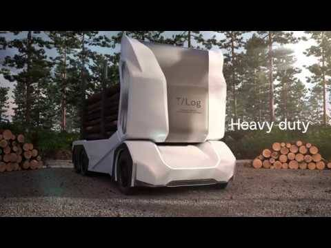 トラックも電気自動車の時代に。しかも、木材運搬用トラックが先駆け
