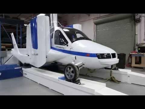空飛ぶ自動車のTerrafugia、ハイブリッド・タイプで、いよいよ来年、実用車か?