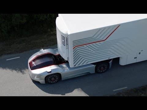 ボルボが自動運転トラック発表。その名も「ベラ」(自信)