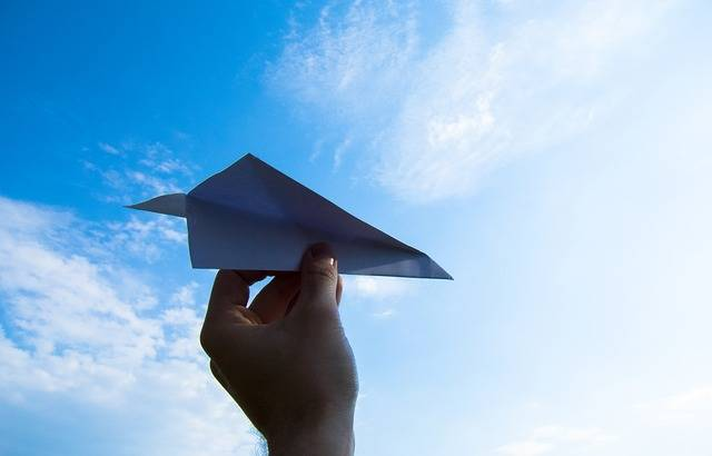 Paper Plane The Hand Sky · Free photo on Pixabay (34480)