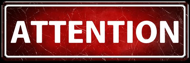 Banner Header Attention · Free image on Pixabay (43111)