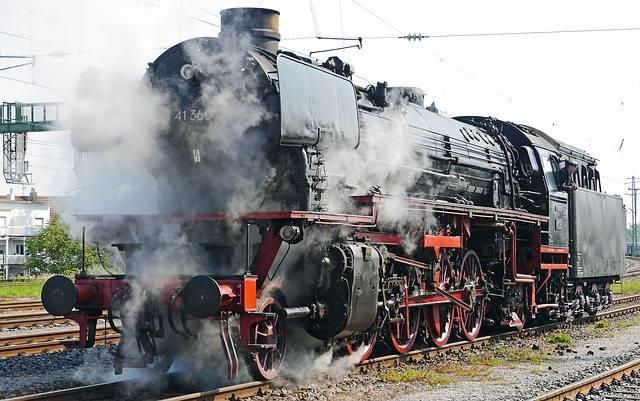 Steam Locomotive Br 41360 Oil · Free photo on Pixabay (47395)