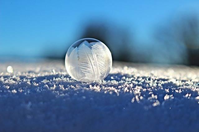 Soap Bubble Eiskristalle · Free photo on Pixabay (50120)