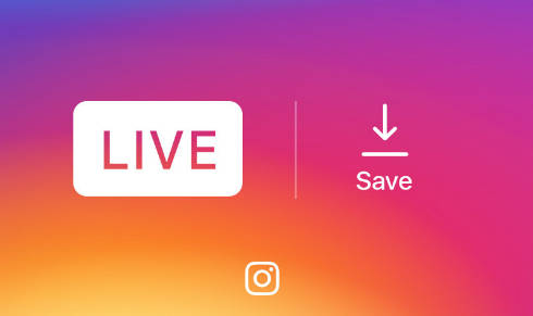 Instagramもライブ動画のカメラロールへの保存が...