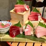 天然まぐろぶつ盛り放題がマジで96円??「ニッポンまぐろ漁業団」新宿西口にオープン‼︎