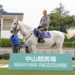 中山競馬場90周年リニューアル記念PR イベント「みちょぱが馬に乗って颯爽と登場!!」