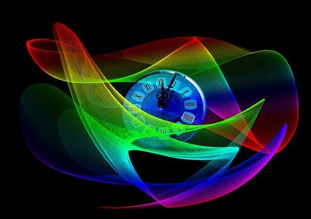 Free illustration: Clock, Wave, Lines, Sylvester - Free Image on Pixabay - 331174 (472)