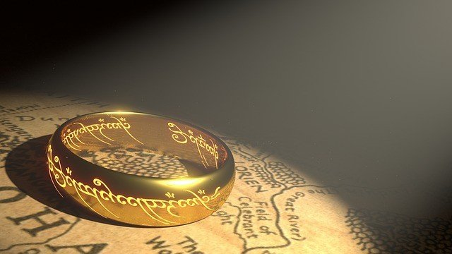 Free illustration: Ring, Gold, Middle Earth - Free Image on Pixabay - 1692713 (849)