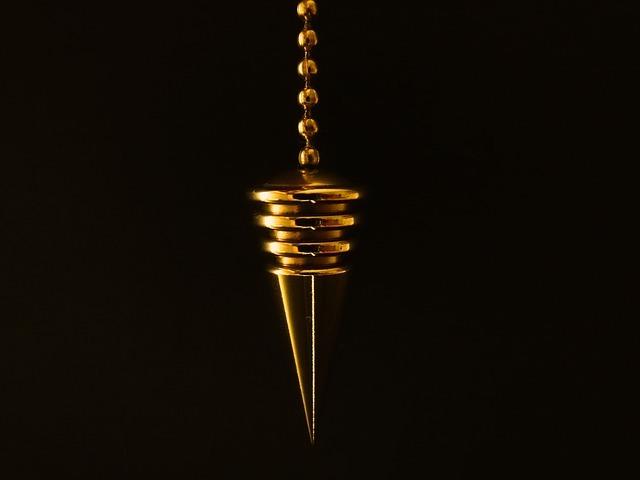 Free photo: Pendulum, Cone, Chain, Gold - Free Image on Pixabay - 626623 (1412)