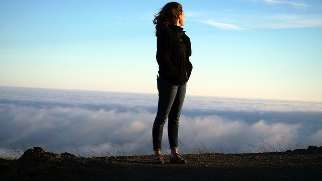 Free photo: Woman, Heights, Clouds, Success - Free Image on Pixabay - 1209866 (1828)