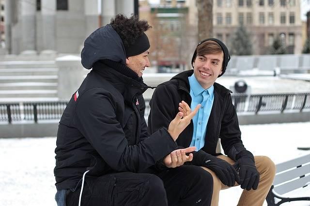 Free photo: Friends, Male, Men, Outside, Winter - Free Image on Pixabay - 1209740 (2332)