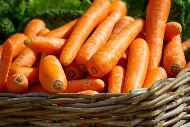 Free photo: Carrots, Basket, Vegetables, Market - Free Image on Pixabay - 673184 (2713)