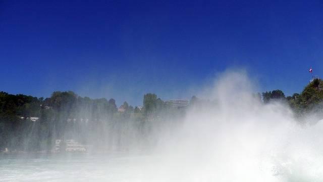 Free photo: Water Vapor, Rhine, Schaffhausen - Free Image on Pixabay - 142089 (2979)