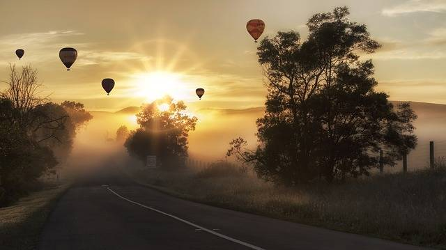 Free photo: Balloon, Hot Air, Landscape - Free Image on Pixabay - 1373161 (3003)