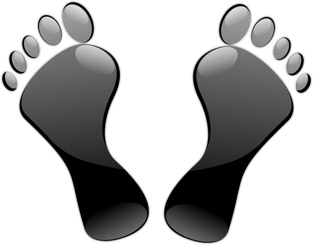 Free vector graphic: Feet, Toes, Footprints, Black - Free Image on Pixabay - 150541 (3224)