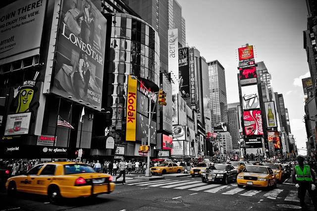 Free photo: New York, Red, Yellow, Usa, City - Free Image on Pixabay - 1819861 (3278)