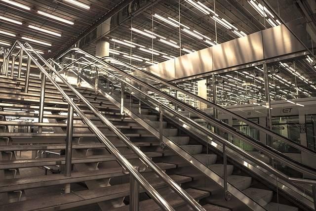 Free photo: Stairs, Rotterdam, Station - Free Image on Pixabay - 547640 (3941)