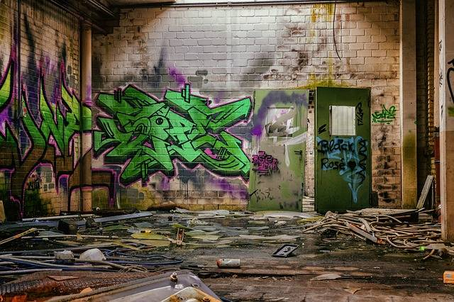 Free photo: Lost Places, Space, Hall, Graffiti - Free Image on Pixabay - 1819419 (4134)