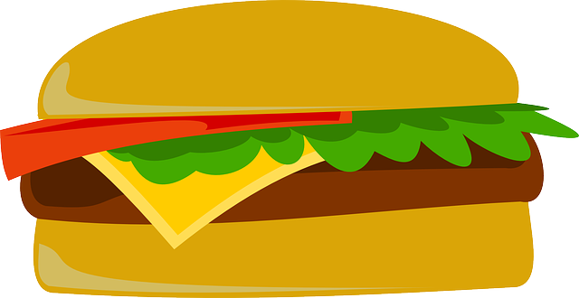 Free vector graphic: Burger, Fast Food, Junk Food - Free Image on Pixabay - 151421 (6382)