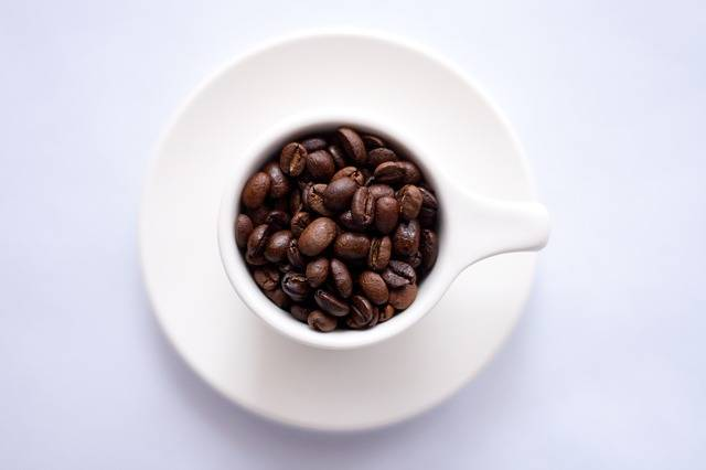 Free photo: Coffee Beans, Cup, Plate, Saucer - Free Image on Pixabay - 691761 (7578)