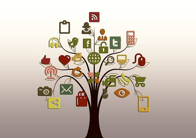 Free illustration: Tree, Structure, Networks, Internet - Free Image on Pixabay - 200795 (8112)