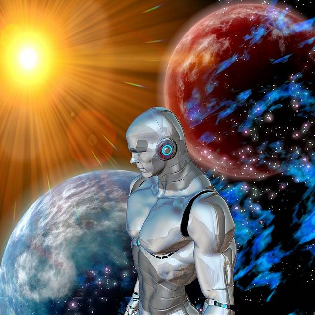 Free illustration: Robot, Sun, Space, Distant - Free Image on Pixabay - 1635794 (8167)