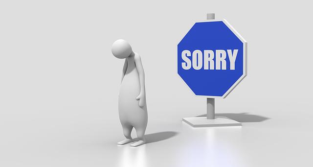 Free illustration: Sign, Sorry, Character, Figure - Free Image on Pixabay - 1719892 (10127)