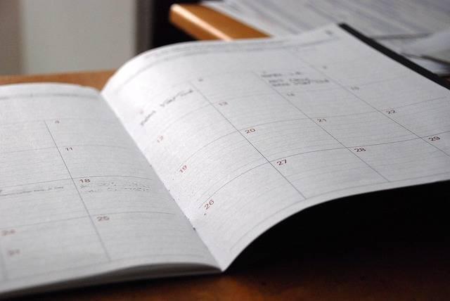 Free photo: Day Planner, Calendar, Organizer - Free Image on Pixabay - 828611 (12267)