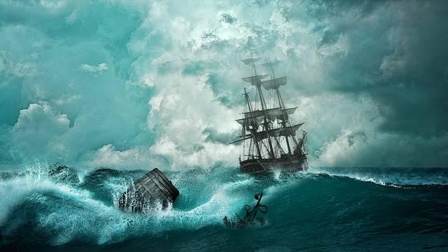 Free illustration: Ship, Shipwreck, Adventure, Setting - Free Image on Pixabay - 1366926 (12683)