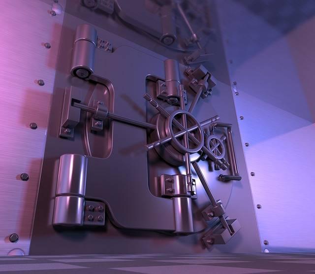 Free illustration: Safe, Vault, Steel Door, Banking - Free Image on Pixabay - 913452 (12870)