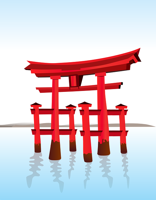 Free vector graphic: Shinto, Japanese, Gate - Free Image on Pixabay - 154572 (13401)