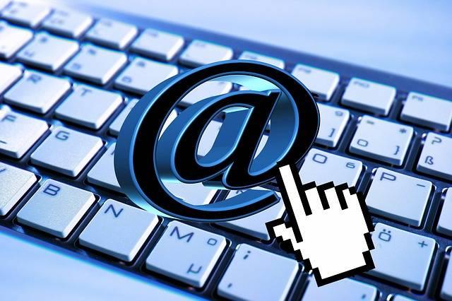 Free illustration: Email, Keyboard, Computer, Mail, At - Free Image on Pixabay - 824310 (13902)