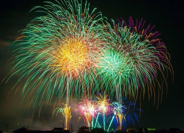 Free photo: Fireworks, Light, Japan, Festival - Free Image on Pixabay - 180553 (14099)